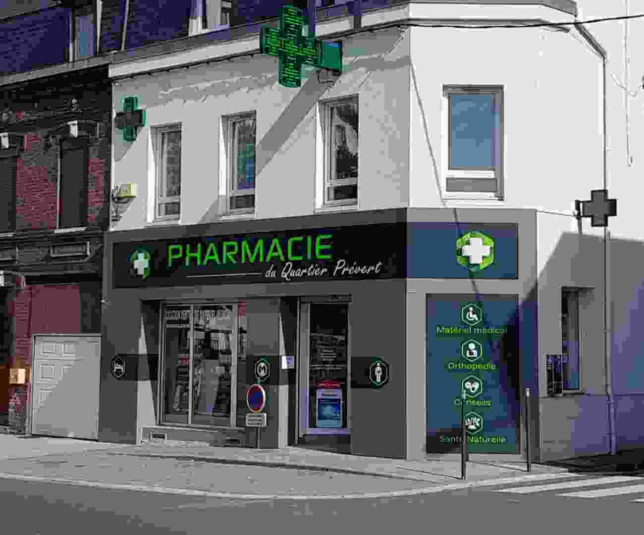 Alucobond Facade Pharmacie